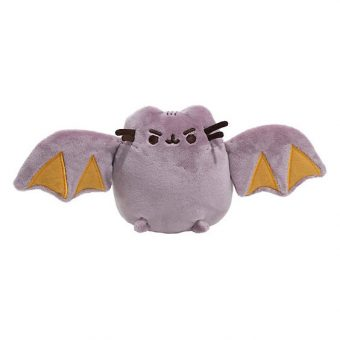 GUND Limited Edition Pusheen the Cat Small Plush Toy - Pusheen as a Bat