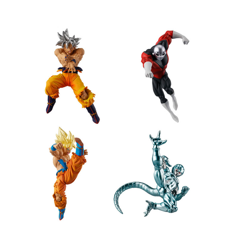Dragon Ball Super Bandai Mini Figure Vs Series 6 Goku Ssj Goku Cooler Jiren