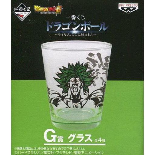 Banpresto Dragon Ball Super Ichiban Kuji Broly Prize G Glass
