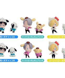 Yuri!! on ICE Metallic Plate Keychain Collection Complete Set of 12