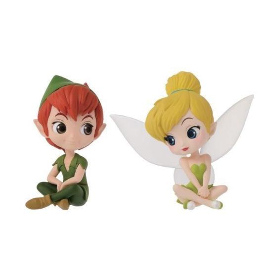 Japan Banpresto Q Posket Disney Characters Petit Figure Fantastic Time Set of 4