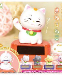 Japan Import Cute Godzilla Maneki Lucky Cat Keychain