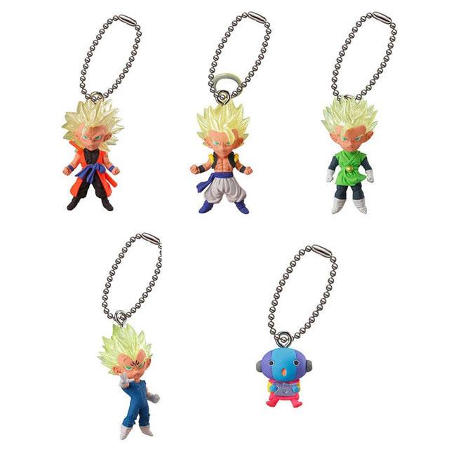 Bandai Gashapon Dragon Ball UDM Best 26 Figure Swing Keychain~Zen-Oh
