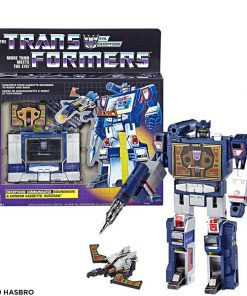 Set 6 Transformers G1 Soundwave Cassette Laserbeak Ratbat Ravage Rumble Figure